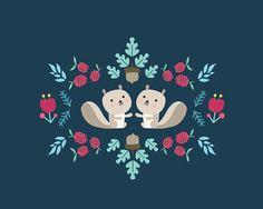 Squirrels & Beavers on Behance