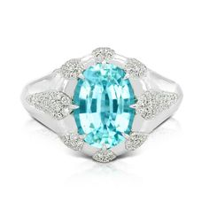 GABRIELLE'S AMAZING FANTASY CLOSET | Kat Florence's collection of Paraiba tourmalines is world class