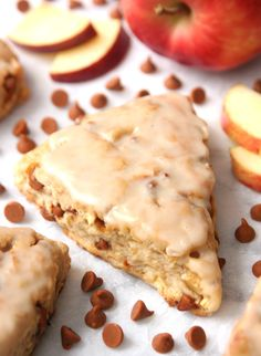 What do you get when you add cinnamon chips and apple chunks to a simple scone recipe? You get the most delicious iced coffee treat - Cinnamon Apple Scones. The perfect combination of cinnamon and apples in a delicious breakfast treat! Breakfast And Brunch, Perfect Breakfast, Brunch Recipes, Breakfast Recipes, Dessert Recipes, Scone Recipes, Apple Recipes Savory, Apple Desserts, Bread Recipes