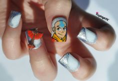 Avatar: The Last Airbender Nail Art