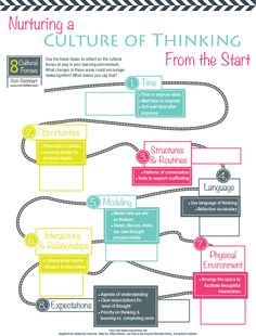 Nurturing a Culture of Thinking Reflection Activity