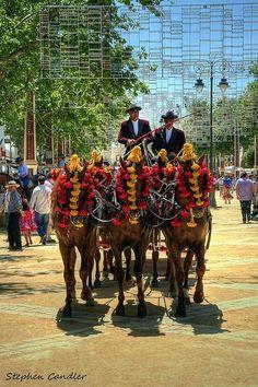 Jerez Feria, Spain. **