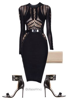 """Untitled #0412"" by efiaeemnxo ❤ liked on Polyvore featuring Jimmy Choo, Julien Macdonald, Gianvito Rossi, jimmychoo, kimkardashian, GianvitoRossi, sbemnxo and styledbyemnxo"