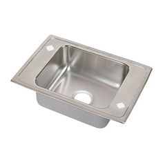 Elkay PSDKR25170 Pacemaker Single Bowl Classroom Commercial Sink
