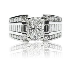 Big Jewelry, Platinum Engagement Rings, How To Become Rich, Diamond, Places, How To Become Wealthy, Diamonds, Lugares