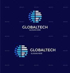 Global Technology - Consultant Company Creative Letter G Logo Template