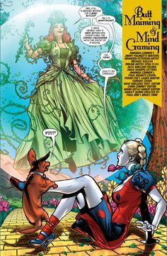 Harley Quinn's Wizard Of Oz Dream