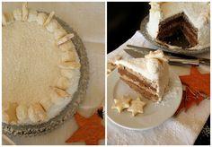 Sweetheart: Čokoladno-karamelasta pahuljica torta / Chocolate-caramel snowflake cake