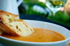 Roasted vegetable soup. Use what you have in the fridge. Easy, healthy and delicious.