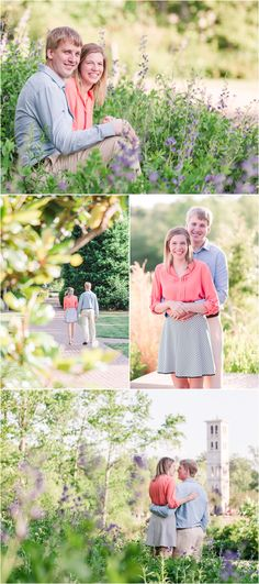 Spring Furman Engagement Session