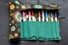 Teal/brown flowers Felt Cozy/Roll by SpoonerSistersDesign on Etsy, $20.00 Brown Flowers, Rolls, Teal, Cozy, Gift Ideas, Trending Outfits, Unique Jewelry, Handmade Gifts, Vintage
