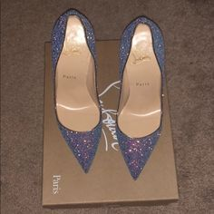 90a304c53edc Dragonfly Red Bottoms Only worn Twice...still brand new Christian Louboutin  Shoes Heels