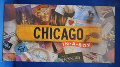 Chicago in a Box Board Game Factory Sealed Box Gameboard #LatefortheSky