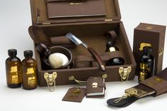 Mister Nesbitt Grooming Kit by Anwar Pack, via Behance