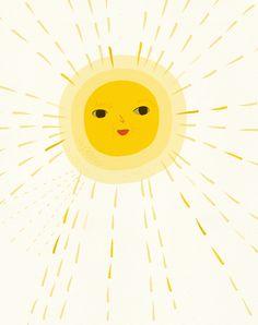 Todos los días sale el sol desde que está la peque (incluso aunque fuera esté nublado...)