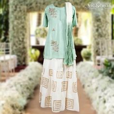 Casual skirt with short kurti and shaded dupatta. Traditional yet classy with embroidery. Product Code - A3 For price and further information, contact +91 9660590061  #signoria #sarees #suits #lehengas #skirt #dupatta #traditional #classy #clothingbrand #weddingdresses #designerclothes #ethnicwear #fashion #grace #womenfashion #jaipurfashion #cityshorjaipur #jaipurdiaries #tailoria #jaipur #rajasthan #india