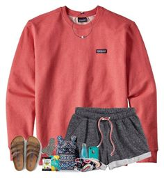 """""""long car rides..."""" by arieannahicks ❤ liked on Polyvore featuring Patagonia, H&M, Vera Bradley, S'well, LifeProof, American Eagle Outfitters and TNA"""