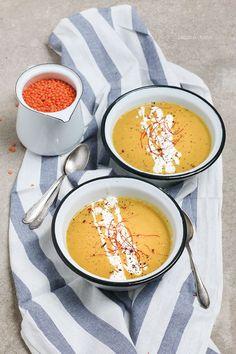 Rote-Linsen-Kokos-Suppe von http://dreierlei-liebelei.blogspot.de