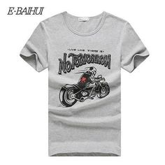 Summer style men clothing Fashion Men's tops tees Short Sleeve Tshirt casual T-shirts Swag mens t shirt
