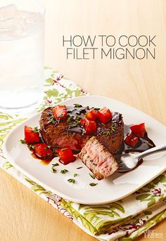 Learn what kind of cut filet mignon is and how to cook it here: http://www.bhg.com/recipes/how-to/cooking-basics/how-to-cook-filet-mignon/?socsrc=bhgpin072814filetmignon