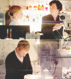 """Molly is pretty observant in a different way that Sherlock. I think that once she got over her initial awkward crush, she showed a whole new layer to herself. This was one of my favorite scenes from this episode, along with the """"You've always counted"""" scene."""