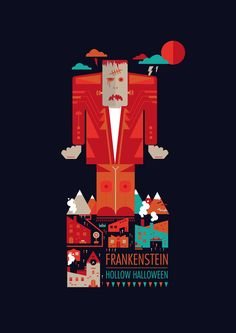 Halloween by Petros Afshar, via Behance