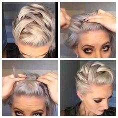 Peinados cortos trenzados-9