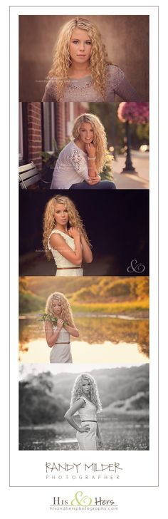 #Iowa Senior Portrait Photographer, Randy Milder | His & Hers #classof2014