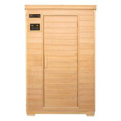 Buy Luxo Vakka Windowless 2 Person Carbon Fibre Infrared Sauna Online Australia