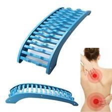 Back Stretcher Massage Tool Cervical Vertebra Neck Relief Massager Fatigue Pain