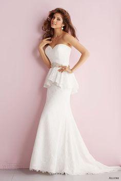 Allure Romance Spring 2014 Wedding Dresses | Wedding Inspirasi