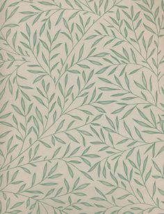 Lily Leaf Wallpaper from Morris & Co.