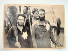 Jewish men at forced labour