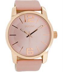Oozoo dames horloge C6716 dustypink 45mm €39,95