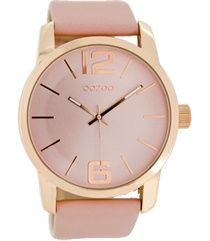Oozoo dames horloge C6716 dustypink 45mm €39,95