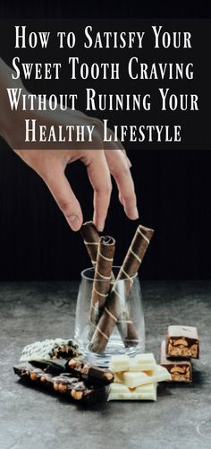 How to Satisfy Your Sweet Tooth Without Ruining Your Healthy Lifestyle. Simple weight loss advice and motivation to help you get started on your weight loss journey and keep you going.