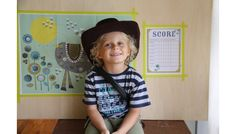 Love this happy cowboy picture by Irene aka Miss Bloesem Blogs!
