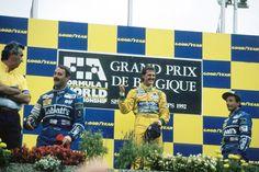 1st: Michael Schumacher (GER) (Camel Benetton Ford) 2nd: Nigel Mansell (GBR)…
