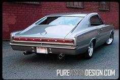 "1966 Dodge Charger ""Skully"" #dodgeclassiccars"