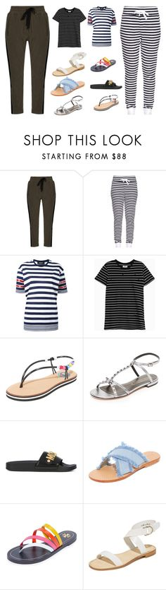 """""""Stripe the fashion"""" by gadinarmada-1 ❤ liked on Polyvore featuring Haider Ackermann, The Upside, Dsquared2, Zoe Karssen, Moschino, Marc Jacobs, Mystique, Tory Burch and Joie"""