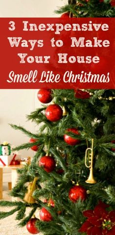 3 Simple Ways to Make Your House Smell Like Christmas - Your home can smell like the holidays from Thanksgiving through Christmas with these 3 easy (and cheap!) ideas. #3 is my new favorite for this year! Scents | DIY | Traditions | Apple | Cinnamon | Orange