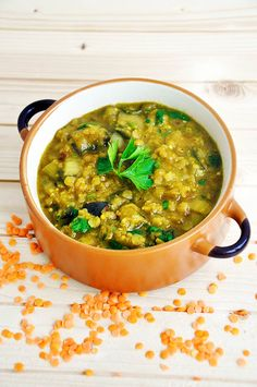 Eggplant Dhal | Lentil and Eggplant Stew