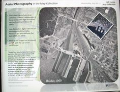 Poster Display, Aerial Photography, Nova Scotia, Aerial View, Libraries, Map, Digital, Collection, Location Map