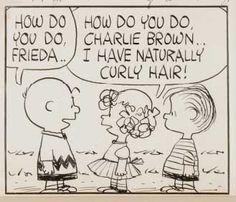 Frieda Meets Charlie Brown