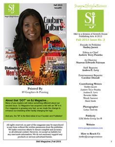 Page 3 of SMJ Magazine Fall Issue! GET INSPIRED, we hope you love it as much as we do! ♥