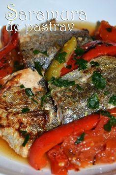 saramura1 Romanian Food, Romanian Recipes, Jacque Pepin, Tasty, Yummy Food, Seafood, Pork, Food And Drink, Keto