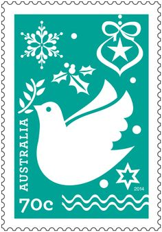 These festive and colourful contemporary stamps represent the familiar trappings and sentiments of Christmas celebration and recall techniques of paper cut design as well as snow crystals. Order in-store or online: http://auspo.st/1xSyHJy