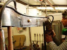 Tocador, en construcción. Creado por Josep Zorrilla (http://www.jzmosaics.com/) y Diego Polognioli, 2004
