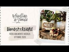 Le Pigottine di Vanda – Dimostrazione n. 5 fiera Abilmente Vicenza 2020 - YouTube Letter Board, Place Cards, Place Card Holders, Youtube, Lettering, Videos, Christmas, Fabric Dolls, Fiestas