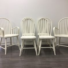Superior Paint Co. Ivory This is our soft warm white and one of our most popular colours! We love pairing Ivory with Fresh Air, Robins Egg or Burlap. Dining Chair Makeover, Painted Dining Chairs, Robins Egg, Chalk Paint, Burlap, This Is Us, Ivory, Colours, Painting